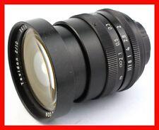@ Carl Zeiss Jena TEVIDON 10 10mm f/2 C-Mount to MFT BMPCC BlackMagic GH5 GH4 @