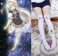 Sailor Moon Cosplay 20th Anniversary Cat Luna Pantyhose Tight Stockings Beauty