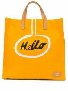 New Paul Smith x Christoph Niemann Hello Cotton Tote Bag