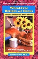 Gluten Free Cookbook Wheat Free Recipes Menus Delicious Dining Without Wheat NEW