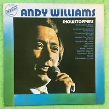 ANDY WILLIAMS - Showstoppers - EMBASSY emb-31088 EX+ état Vinyle LP
