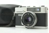 [Exc+5 w/case] Konica C35 Flash Matic Silver 35mm Film Camera From JAPAN 291