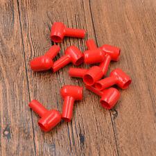 Staubdicht Polschutzkappe Batterie 8x14mm Polabdeckung Schutzkappe Isoliert Rot