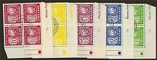 Zimbabwe:1980:Postage Due,Set in Cylinder Blocks of 4,(1A).
