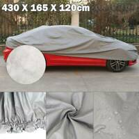 Waterproof Medium M 2 Layer Full Car Cover Breathable UV Protect Indoor Outdoor