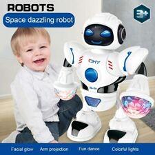 Space Dazzling Robot Shiny Educational Toys Electronic Walking Dancing Music Toy