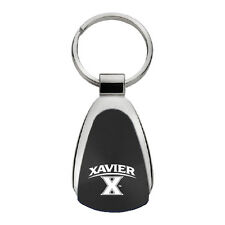 Xavier University - Teardrop Keychain - Black