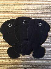iCandy Apple Pear Fleece Seat Liner. Black. VGC