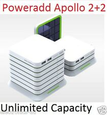 2016 PowerAdd Apollo 4 20000mAh Solar Charger External portable power bank
