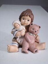 +# A005974 Goebel Archiv Limpke Nina & Marco mit Teddy Bubu und Puppe 10-967
