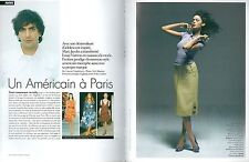 ▬► CLIPPING Marc Jacobs 6 pages mode Louis Vuitton