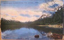 Montana Postcard LAKE McDONALD Glacier National Park Schmidt Linen Glac Studio