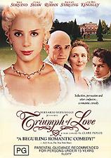 Mira Sorvino Ben Kingsley The Triumph of Love - Beguiling Romantic Comedy DVD