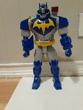 Batman Unlimited Ultimate Bat-Mech Action Figure Toy Sounds Lights Effects WORKS