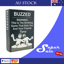 BUZZED Drinking Board Game AU STOCK
