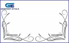 1 Paar MERCEDES SPRINTER - Seitenfenster Aufkleber - Sticker / Decal !!!!!