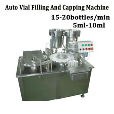 Automatic Bottle Filling and Capping Machine Filler Capper 10ml By Sea