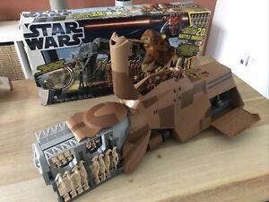 Star Wars Trade Federation MTT Multi Droid Troop Transport Working + Box #FP&P#