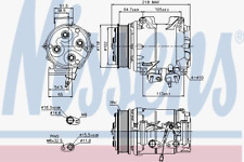 Kompressor Klimaanlage - Nissens 89242