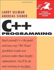 C++ Programming: Visual Quickstart Guide (Visual QuickStart Guides),Larry Ullma