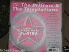 Drifters TEMPTATIONS Legends Karaoke CD CDG  MY GIRL Cloud Nine ON BROADWAY