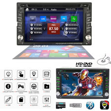 2 DIN GPS Navigation HD Car Stereo DVD CD Player FM AM Bluetooth Auto Radio iPod