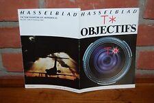 REVUE HASSELBLAD T * OBJECTIFS 1979