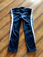 GAP FIT Maternity ~ Size Small ~ Side Stripe GFAST Cropped Yoga Legging Pants S