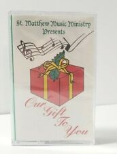 St Mathew Music Ministry Presents Our Gift to You Christmas Cassette Sealed New