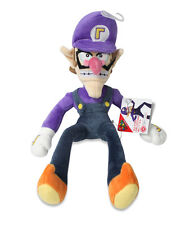 "NEW Sanei AC09 Super Mario All Star Collection Stuffed Plush Doll 12.5"" Waluigi"