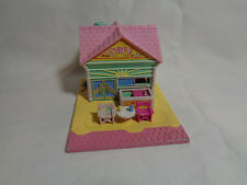 Vintage 1993 Bluebird Polly Pocket Beach Front Cafe Playset