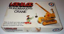 Loc Bloc Roadmakers Construction Series Crane Boxed Entex 1032A Japan Building