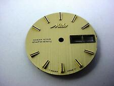 Mido Ocean Star Datoday Vintage Gold 29.3mm Watch Dial Stick Markrs Day Date Wnd