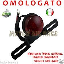 Stop Fanale Posteriore Moto x Cafe Racer Scrambler Custom OMOLOGATO M7
