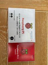 Raspberry Pi 3 Model B Plus 1.4GHz Quad Core 64Bit 1GB RAM and Power Supply