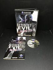 Resident Evil 3: Nemesis (Nintendo GameCube, 2003) - US/Canada Complete