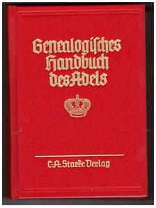 Genealogisches Handbuch des Adels FÜRSTLICHE HÄUSER, Band XV, 1997, Band 114