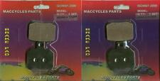 Piaggio Vespa Disc Brake Pads BV500 2006-2014 Front & Rear (2 sets)