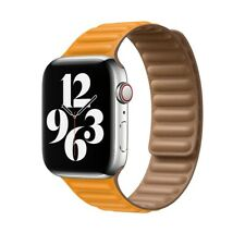 New Magnetic Leather Loop Band for Apple Watch 6 5 4 3 SE 2020 44mm 40mm 42mm 38