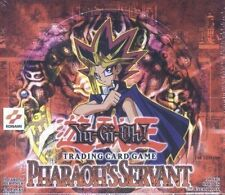 Yugioh Pharaoh's Servant 1st Edition English Booster Box 24 packs Factory Sealed