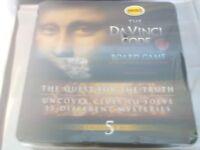 The Da Vinci Code Board Game. Mega Brands.Tin version