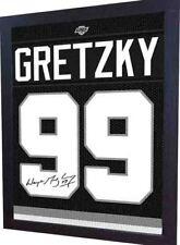 Wayne Gretzky La Kings Autograph signed Printed on Canvas 100% Cotton Framed