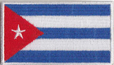 Cuba Country Flag Embroidered Patch T4