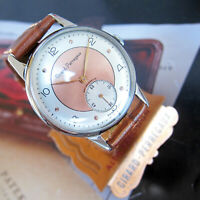 Girard Perregaux Mens watch Vintage Swiss Made 1950s 2-TONE DIAL 17 JEWELS