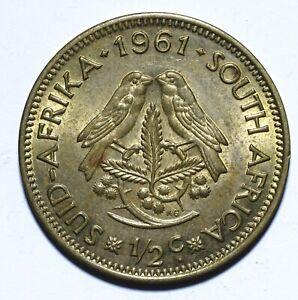 1961 South Africa Half 1/2 Cent 1st decimal series - Lot 2025