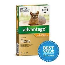 Advantage Flea Treatment for Cats 4kg 6pk