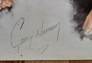 GARY NUMAN TELEKON ORIGINAL 1980 AUST WEA LABEL ALBUM SIGNED ON THE BACK COVER