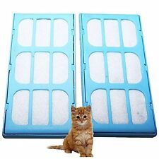 First4Spares Replacement Filter Cartridges For Cat Mate Pet Water Fountains 2Pk