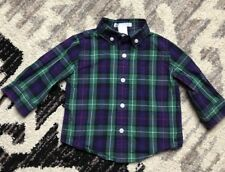 Janie And Jack Plaid Shirt Baby Size 3 - 6 Months (x29)