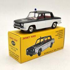 1:43 DeAgostini Dinky Toys 517P Renault R8 Police Diecast Models Car